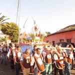 Rinconadinos mantienen viva tradicional Procesión de los Arcos en honor a la Virgen del Carmen