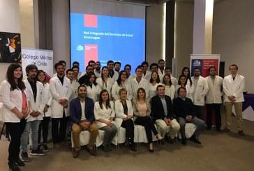 Servicio de Salud Aconcagua dio la bienvenida los nuevos médicos que se incorporaron al sistema público