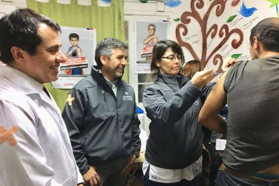 Autoridades suman a vacunación contra la influenza a personas en situación de calle