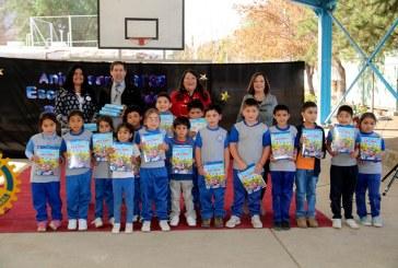 Toda la comunidad educativa del sector de Casablanca festejó los 35 años que cumple la querida escuela Eduardo Becerra Bascuñán.