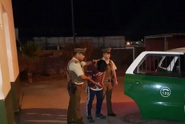 Conductor en estado de ebriedad, chocó vehículo, se dio a la fuga y se negó a realizarse la alcoholemia.