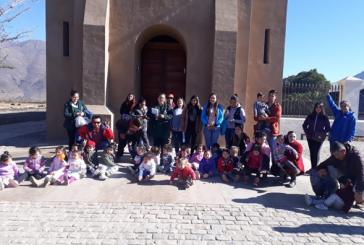 """Jardín infantil y sala cuna El Trencito  celebro el dia  del patrimonio cultural, con visita a  Monumento histórico  """"Hacienda Lo Vicuña """""""