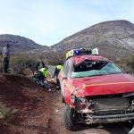 Un lesionado dejó Volcamiento en Ruta que une Putaendo con Cabildo