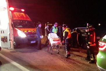 Por evitar atropellar un perro conductora de un vehículo impacta con cierre perimetral resultando lesionada