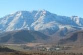 Temperatura bajo cero poca lluvia y algo de nieve en las últimas horas en Putaendo