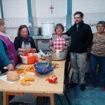 Comenzó a funcionar el comedor solidario de la Parroquia San Antonio de Padua
