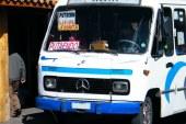 Amedrentaron a pasajeros de microbús con un cuchillo camino a Putaendo.