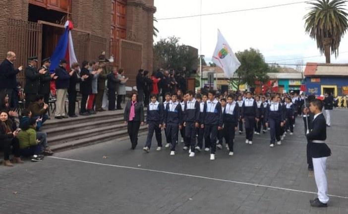 Con desfile en honor a San Antonio el Santo Patrono de la comuna finalizó peregrinación