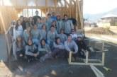 Universitarios continúan trabajos en nueva capilla del LLano