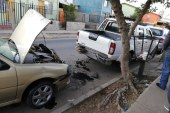 Conductora en estado de ebriedad ocasionó accidente de tránsito en calle El  Molino