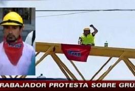Por daños y secuestro dejan en prisión preventiva a ex dirigente sindical Manuel Montenegro