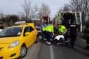 Un lesionado dejó colisión múltiple en sector las Quillotanas