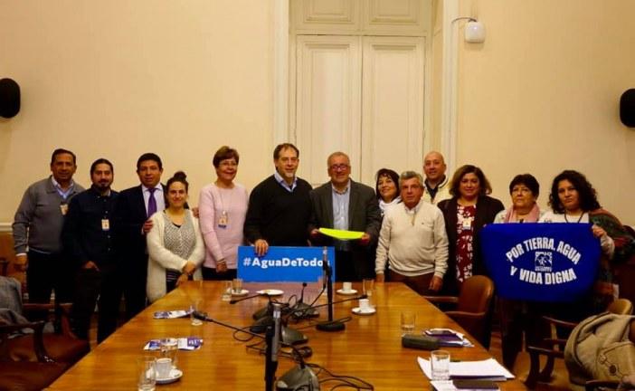 Concejo Municipal, dirigentes de Apr y agrupaciones ambientalistas  se reúnen con el presidente de la Comisión de Medio Ambiente del Senado, senador Guido Girardi.