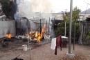 Dos incendios estructurales dejan pérdidas totales y personas con quemaduras
