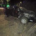 Por evitar atropellar un perro conductora choca contra un árbol en el sector las Quillotanas