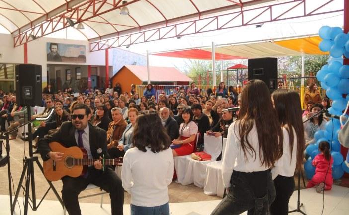 Escuela San Alberto de Guzmanes celebró 109 años