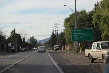 Definitivo: Reparación de ruta San Felipe- Putaendo llegará solo hasta Punta del Olivo.
