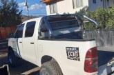 En Panquehue dejan abandonada camioneta robada en Putaendo a plena luz del día.