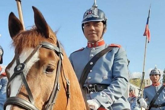 Joven Putaendino desde hace tres años destaca como escolta presidencial en la parada militar