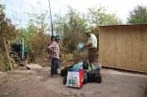 Carabineros  entregó ayuda a familia que perdió todo en voraz incendio de Quebrada de Herrera