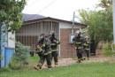 Acumulacion de gases en alcantarilla obliga a evacuación de colegio y jardin infantil en el Tártaro