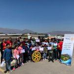 """Estudiantes de Putaendo """"Conocieron el valle desde el cielo"""" gracias a iniciativa del Rotary Club"""