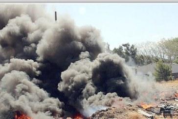 Bomberos no acudirá a incendios en vertederos de avenida Alejandrina Carvajal